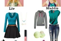 Liv & Maddie outfits