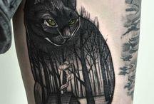 Tatuaggi di gatto nero