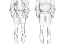 fashion sketches men