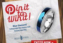 < BLUE STEEL >