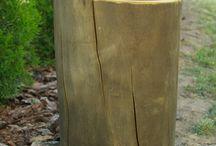z drewna do ogrodu / wyroby drewniane, większe z przeznaczeniem do ogrodu lub na taras