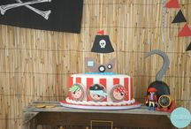 """Pirate Party <3 by motinni / #party #pirateparty #motinni #motinnistuff #thepartyishere #letsparty #partystyling #partydecor #decor """"styling #kids #kidsparty #pirate #pirates #ahoypirates"""