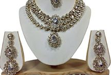 Most Beautiful Indian Bollywood Women Wedding Necklace Set