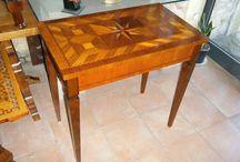 Wooden object handmade design / Altri oggetti di design in legno artigianali