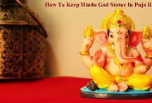 How to Keep Hindu God Statue in Puja Room