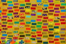 geometric design patchwork