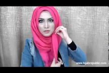 Hijab tutorial videos / All about tutorials