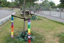 Yarn bombing / Street-art