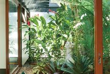 Jardim sombra sala