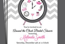 Around The Clock Bridal or Baby Shower Ideas / Exciting and fun ideas for an Around The Clock Bridal or Baby Shower! / by Michelle Wise @ That Party Chick