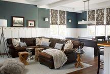 Basement Design Ideas / by Cindy Rescigno
