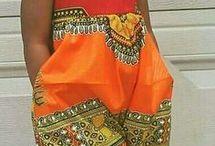 Kids africain fashion