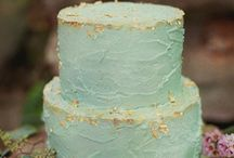 Wedding Colours: Turquoise & Gold