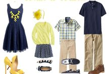 IDEAS FOR FAMILY SESSIONS OUTFITS  / This will give you some ideas for family shoot outfits and colour patterns