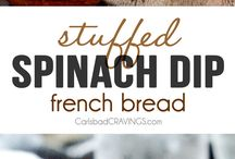 FRENCH BREAD WITH STUFFING
