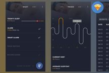 03 • Screen Design - UI / clean, information and grid based layouts