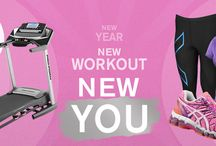 New Year New Workout New You / Get into gear for the new year with Lady Foot Locker / by Lady Foot Locker (Official)