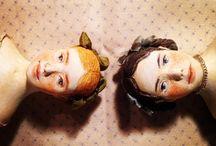 OOAK dollhouse miniature art doll