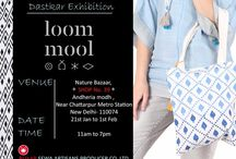 Whats New / Latest Design Collection from Loom Mool, designs which grows on Handloom fabric produced by Indian Weavers / Artisans of Bhagalpur Bihar, INDIA.   A social effort to uplift the life standards of under privileged  Indian Weavers / Artisans by Sewa Bharat