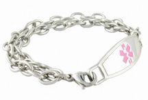 Medical ID Bracelets / by N-Style ID Medical ID Jewelry