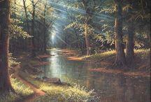 Natur(e): Rivers/ Flüsse / The river is flowing... -- Der Fluss fließt...