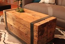wood table ideas / by Christa Savietto