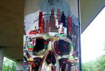 gatekunst, grafitti