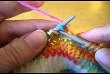 video knitting short rows