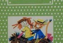 Lilinek ( for Lili ) / Lili kedvenc könyvei, rajzfilmjei, és régi dolgok, amiket nem ismerhet már.I remember.