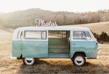 Knoxville Wedding Photographers / The Knox Photo Bus offers wedding photography through a mobile photo booth inside a 1969 VW bus.