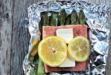 Recepty na lososa