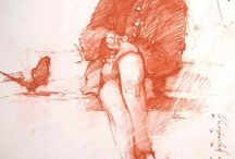 Drawings by Andre Kohn