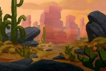 Background Design for Animation
