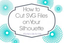 Silhouette Cameo Hacks / by Pepper Hayes