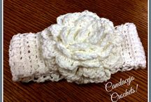 Candacejo Crochets! Visit my ETSY store! / Crocheted baby beanies, headbands, hats, adult hats and headbands, and more!