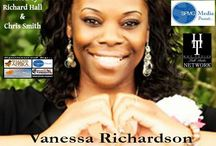 "A Tribute to Vanessa Richardson: Author, Minister, Playwright, & Poet / On behalf of the hosts & management of SPMG Media Presents, we're proud to create this tribute board to Ms Vanessa Richardson, the playwright of stage productions. Her freshman nonfiction inspirational novel, ""The Certain Ones"", spells out that not everyone is called into greatness. With ""The Certain Ones Online Magazine"" she highlights authors, health, entrepreneurs, &  ministries.Thank you, Ms Richardson, for taking the time to sit down with Richard Hall & Chris Smith to discuss your career."