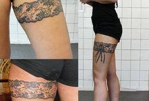 tatto 허벅지