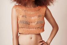 Summer knit fashion