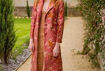 SHIBUMI | Aquila Coat / This stunning floor-length single-breasted long cashmere or silk coat is a very arty maxi coat and an absolute showstopper. It is the same style as the Grace Coat with the half belt at the back and a revere collar, except it is longer. This coat is a fabulous choice to wear to the opera, or can be worn as a stunning wedding coat, whether you're a guest or even the bride herself!