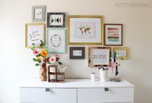 Pretty Little Gallery Walls