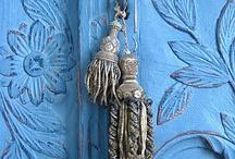 Houses - Doors - Blue