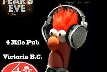 NYE 2015 4 Mile Pub #YYJ / #yyj #djdaddymack #weddingDJ #affordableDJ #eventDJ  #vancouverisland #birthdays #djdaddymackspacemusicbar #www.wedepradio.com #NewYears2015