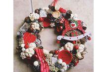 cristmas wreath betty