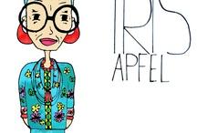 Iris Apfel и райские птицы / Люди с молодой душой и чувством стиля.