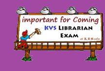 Important for coming KVS Librarian Exam