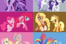 Main 6 my little pony