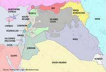 Current Map of Middle East