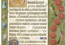 manuscripts calligraphy and illuminations