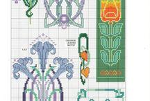 Keltové, wikingové a bordury / Vyšívání