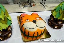 Zoo Theme Cakes